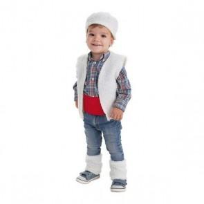 Costume per Neonati Pastore (Xs)