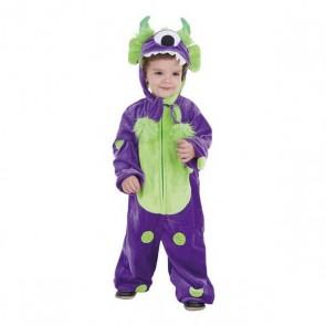 Costume per Bambini Monster Lilla (3-6 anni)