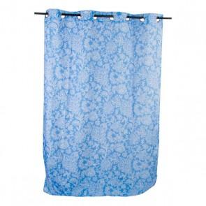 Tenda DKD Home Decor Azzurro Poliestere (140 x 270 cm)