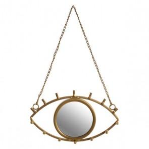 Specchio da parete Dekodonia CHIC GOLD Dorato Polipropilene (PP) (23 x 3 x 36 cm)