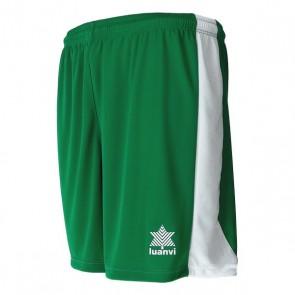 Pantaloncino Sportivo Luanvi Premium Bianco/Verde