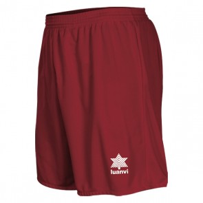 Pantaloncino Sportivo Luanvi Pol Rosso Granato
