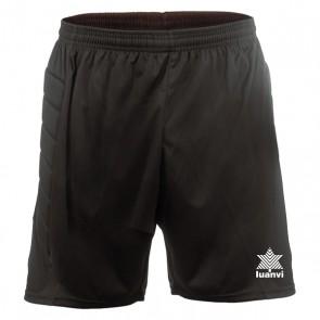 Pantaloncino da Portiere di Calcio Luanvi Control Nero