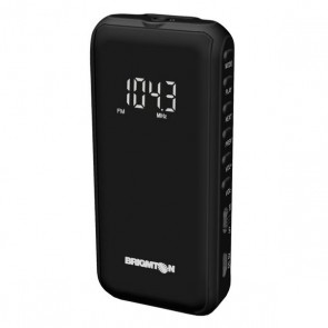 Radio Portatile Digitale BRIGMTON BT-124-N Micro SD Nero
