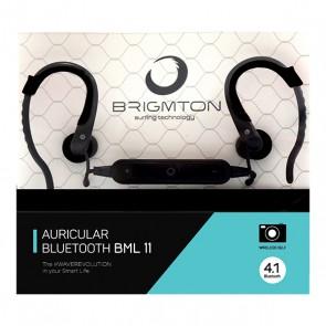 Auricolari Bluetooth Sportivi BRIGMTON BML-11 Nero