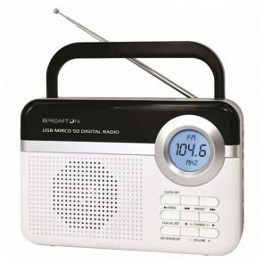 Radio Portatile BRIGMTON BT 251 B Albă