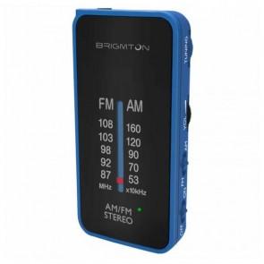 Radio Portatile BRIGMTON BT224 Azzurro