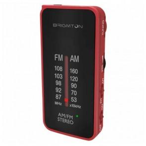 Radio Portatile BRIGMTON BT224 Rosso
