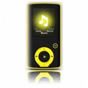 """Riproduttore MP3 BRIGMTON BPA-81-Y 1.8"""" 8 GB Giallo"""