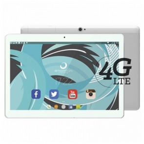"Tablet BRIGMTON BTPC-1023OC4GB 10"" IPS Quad Core 1.5 GHz 32 GB 2 GB RAM DUAL SIM 4G 5000 mAh Bianco"
