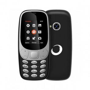 """Telefono Cellulare BRIGMTON 224386 Bluetooth Dual SIM Micro SD 1.7"""" Nero Batteria ricaricabile al litio"""