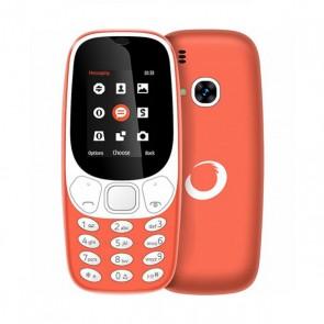 """Telefono Cellulare BRIGMTON Bluetooth Dual SIM Micro SD 1.7"""" Arancio Batteria ricaricabile al litio"""