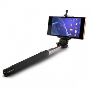 Selfie Stick Estensible Bluetooth 45 mAh Nero