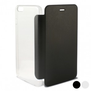 Custodia Folio per Cellulare Iphone 6/6s Crystal Trasparente