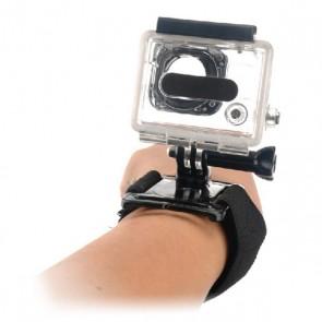 Imbracatura da Polso per Fotocamera Sportiva KSIX Nero