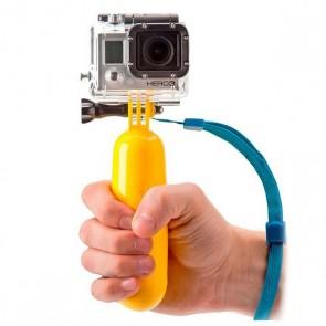 Selfie Stick Galleggiante per Fotocamera Sportiva KSIX Giallo