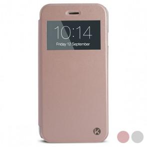 Custodia Folio per Cellulare Iphone 6/6s Crystal View Trasparente