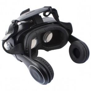Occhiali di Realtà Virtuale con Auricolari KSIX Nero