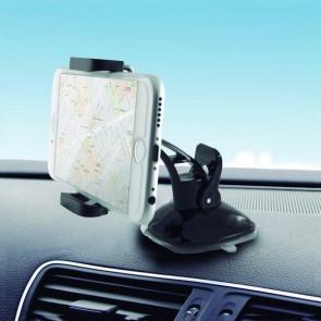 Supporto con Ventosa per Cellulare per Auto 360º Nero