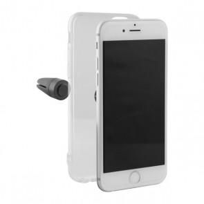 Custodia per Cellulare Iphone 8 Plus Flex Klip Trasparente