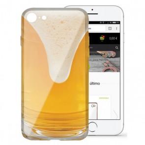 Custodia per Cellulare Iphone 7/8 Flex TPU Birra