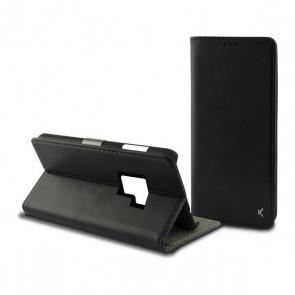 Custodia Folio per Cellulare Galaxy S9 Slim Nero