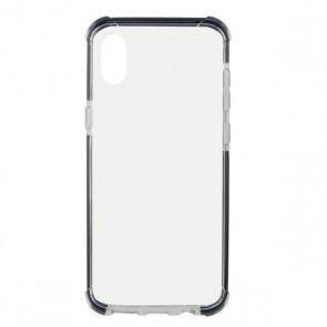 Custodia per Cellulare Iphone Xs Max KSIX Flex Armor Trasparente