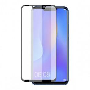 Protettore Schermo Vetro Temprato per Cellulare Huawei P Smart Plus Extreme 2.5D Negro