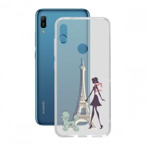 Custodia per Cellulare Huawei Y6 2019 Contact Flex France TPU