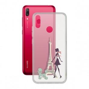 Custodia per Cellulare Huawei Y7 2019 Contact Flex France TPU