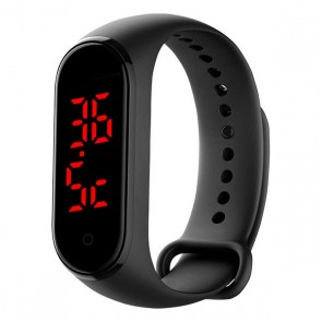"Orologi Sportivi Contact Thermometer 0,96"" 90 mAh Bluetooth Nero"
