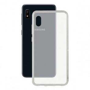 Custodia per Cellulare Samsung Galaxy A10e Contact Flex TPU Trasparente