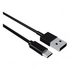 Cavo USB A con USB C Contact (1 m) Nero