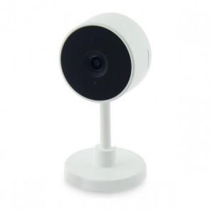Fotocamera IP Smart Home 2 MP 130º 128 GB WiFi Bianco