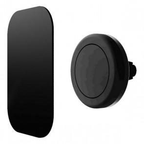 Supporto Magnetico da Auto per Cellulari Contact Nero