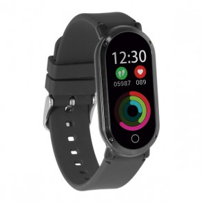 "Orologi Sportivi KSIX Fitness Band HR3 0,96"" TFT Bluetooth Nero"