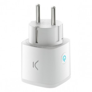 Presa Intelligente KSIX Smart Energy Mini WIFI 250V Bianco
