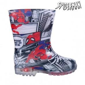 Stivali da pioggia per Bambini con LED Spiderman 2515 (taglia 28)