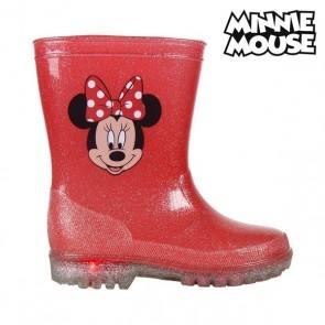 Stivali da pioggia per Bambini con LED Minnie Mouse 73498 Rosso