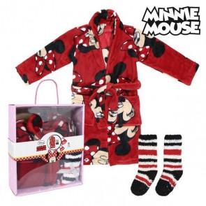Vestaglia per Bambini e Calzini Minnie Mouse 73636