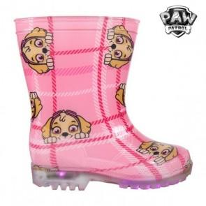 Stivali da pioggia per Bambini con LED The Paw Patrol 73480 Rosa