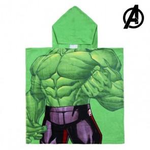 Poncho-Asciugamano con Cappuccio Hulk The Avengers 74157