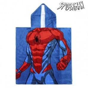 Poncho-Asciugamano con Cappuccio Spiderman 74188