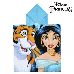 Poncho-Asciugamano con Cappuccio Jasmin Princesses Disney 74201