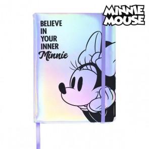 Agenda con Segnalibro Minnie Mouse A5 Lilla