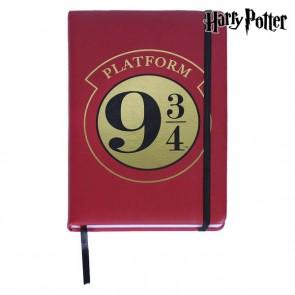 Agenda con Segnalibro Harry Potter A5 Bordeaux