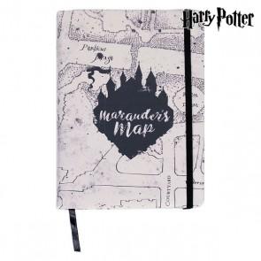 Agenda con Segnalibro Harry Potter A5 Marrone