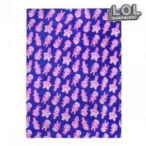 Coperta di Flanella LOL Surprise! 74522 Azzurro (120 X 160 cm)