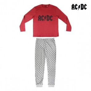 Pigiama AC/DC Adulto Grigio Bordeaux
