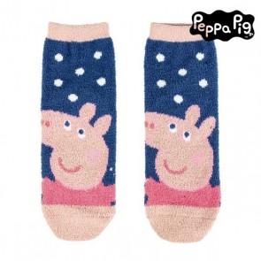 Calzini Antiscivolo Peppa Pig 74476 Blu marino Rosa